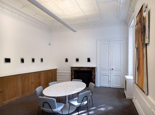 Exhibition view: Arnulf Rainer, Recouvrements, Galerie Lelong & Co., 13 Rue de Téhéran, Paris (10 October–16 November 2019). Courtesy Galerie Lelong & Co. Paris.
