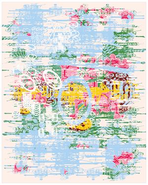 4-fold landscape L 139 by Sang Nam Lee contemporary artwork