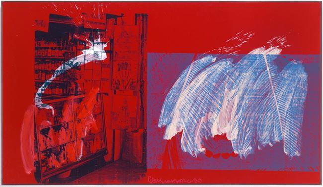 Palms (Urban Bourbon) by Robert Rauschenberg contemporary artwork