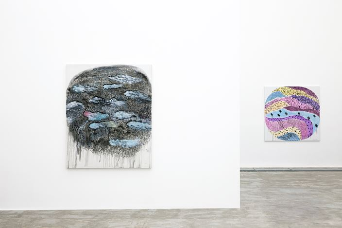 Exhibition view: Yu Youhan, Cycle · Freedom: Yu Youhan's Abstract Works in the 2010s, ShanghART, Beijing (16 May–30 August 2020). Courtesy ShanghART.