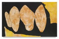 Hollow Men Series by Robert Motherwell contemporary artwork mixed media