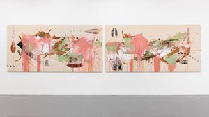 Rapid Buckling of the Loud Song by Elizabeth Neel contemporary artwork