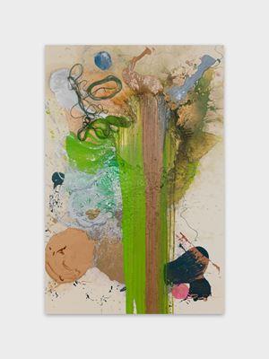 Cascade by John M Armleder contemporary artwork