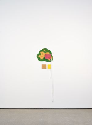Whiteness 12 by Richard Tuttle contemporary artwork