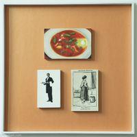 Le Ministre--Box21-04-02/HK08 by Zhou Tiehai contemporary artwork installation
