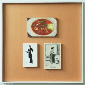 Le Ministre--Box21-04-02/HK08 by Zhou Tiehai contemporary artwork