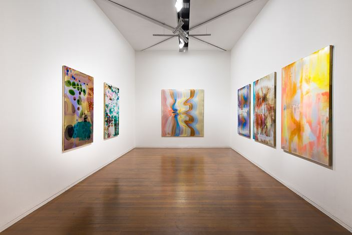 Exhibition view: Dale Frank: Shaun taught piano, Roslyn Oxley9 Gallery (17 April—16 May 2020). Courtesy Roslyn Oxley9 Gallery. Photo: Luis Power