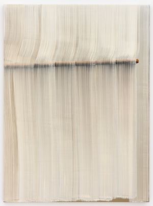 Brushstrokes - Diagram by Hyun-Sook Song contemporary artwork