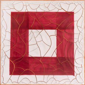 Red Square by Adriana Varejão contemporary artwork