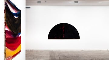 Contemporary art exhibition, Gretchen Albrecht, Colloquy at Two Rooms, Auckland