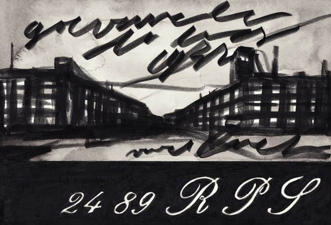 Untitled by Marcel van Eeden contemporary artwork