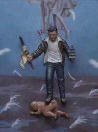 Virupaksa by Gunwoo Shin contemporary artwork painting