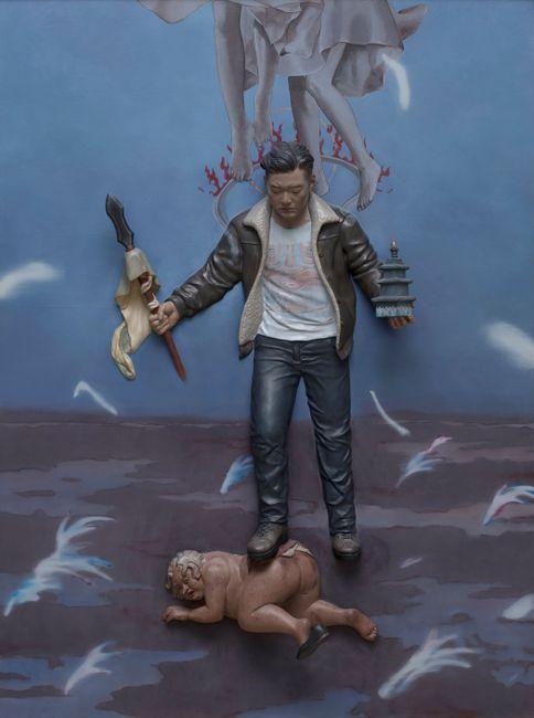 Virupaksa by Gunwoo Shin contemporary artwork