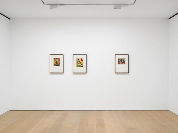 Exhibition view: Benode Behari Mukherjee, After Sight, David Zwirner, London (10 January–22 February 2020). © Kiran Nadar Museum of   Art. Courtesy David Zwirner and Vadehra Art Gallery. Photo: Jack Hems.