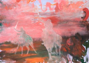 Riders on the Storm by Rebekka Steiger contemporary artwork