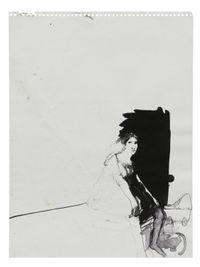 Half Hidden Woman by Lynn Hershman Leeson contemporary artwork works on paper