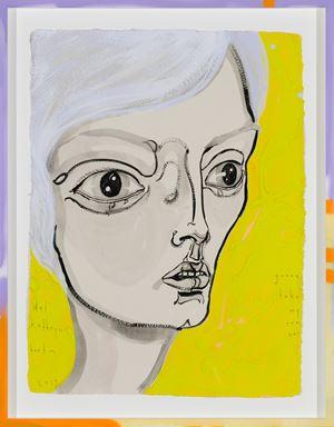 gunna take my own car by Del Kathryn Barton contemporary artwork