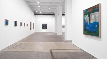Contemporary art exhibition, Ficre Ghebreyesus, Gate to the Blue at Galerie Lelong & Co. New York