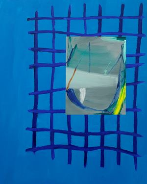 Digital Dip X Grey Landscape by Min Ha Park contemporary artwork