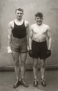 Boxer (Boxers) by August Sander contemporary artwork print