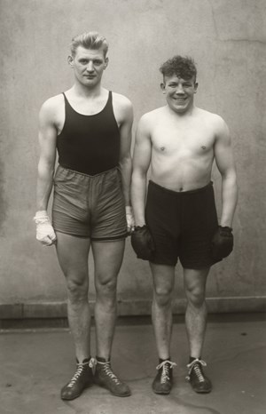 Boxer (Boxers) by August Sander contemporary artwork