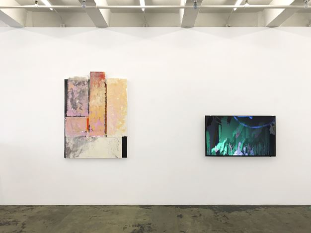 Exhibition view: Group Exhibition, Pleasure in Precariousness, Thomas Erben Gallery, New York (27 June–26 July 2019). Courtesy Thomas Erben Gallery.