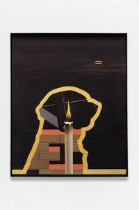 Inside Doctor Dog by Camille Blatrix contemporary artwork sculpture