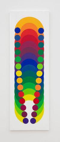 Volume virtuel 21 by Julio Le Parc contemporary artwork painting