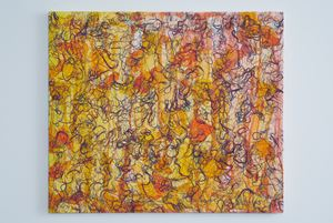 Small Leaves – RFGA by Ghada Amer contemporary artwork