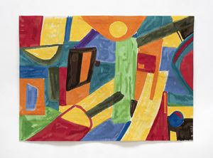 Avril by Etel Adnan contemporary artwork