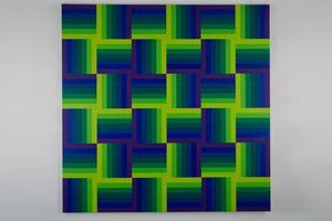 Quatre positions gamme du 2 au 8 by Julio Le Parc contemporary artwork