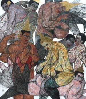 No stranger No. 4 by Anuwat Apimukmongkon contemporary artwork