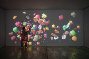 Womb 1 by Jennifer Steinkamp contemporary artwork