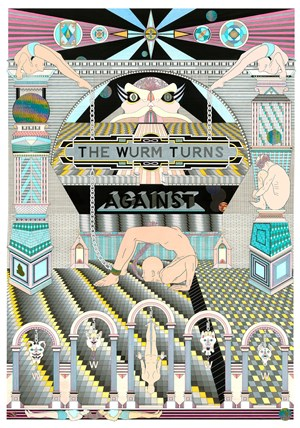 The Wurm Turns Against  by Jess Johnson contemporary artwork