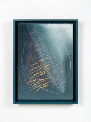 Zeitliche Koinzidenz (…) / Jung/Pauli-Studie 1 by Jorinde Voigt contemporary artwork