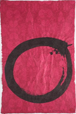 Constant Enso by Max Gimblett contemporary artwork