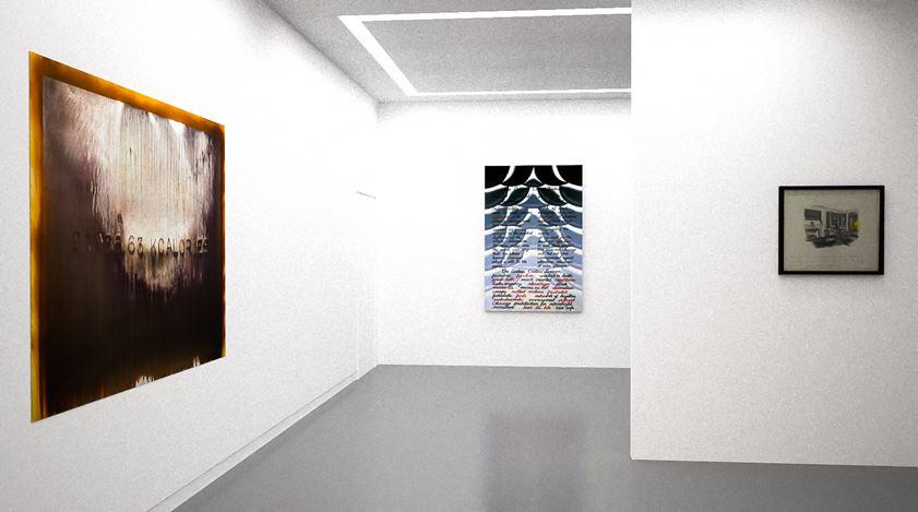 Exhibition view: Group Exhibition,The Written Word, Kavi Gupta, online exhibition (23 April–7 May 2020). Courtesy Kavi Gupta.