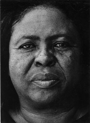 Fannie Lou Hamer, Mississippi by Louis Draper contemporary artwork