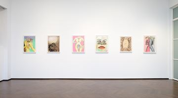 Contemporary art exhibition, Francesco Clemente, Pastels at Lévy Gorvy, London