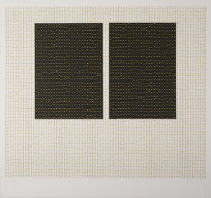 Untitled (work on paper, 5 - 17) by Maxine Attard contemporary artwork