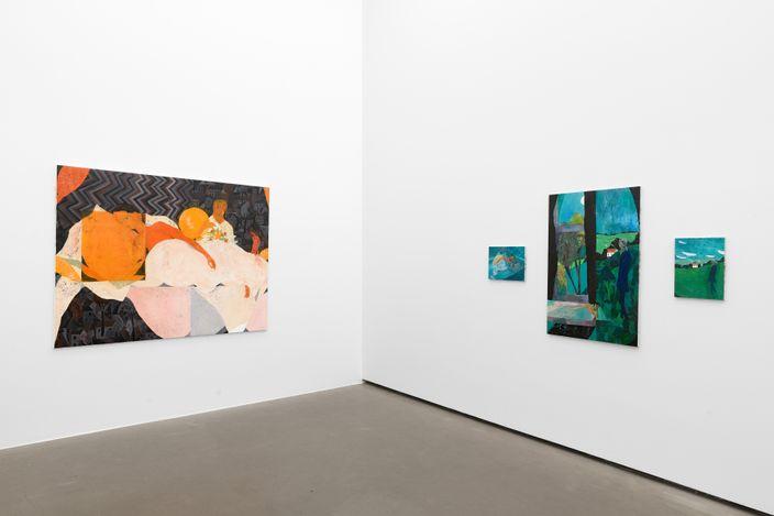 Tom Anholt,Close to Home, 2021, Installation view, Galerie EIGEN + ART Berlin, photo: Uwe Walter, Berlin