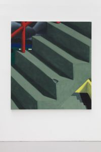 Stairs by Jordan Kasey contemporary artwork painting