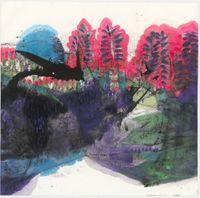 秋聲 The Sound of Autumn by Lee Chung-Chung contemporary artwork painting, works on paper, drawing