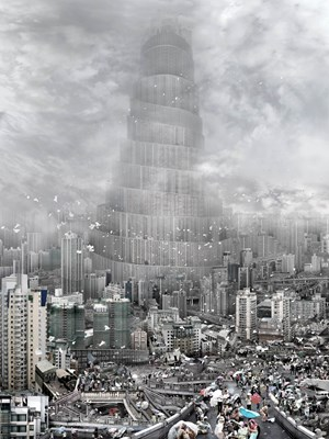 The Tower of Babel—Wind by Du Zhenjun contemporary artwork