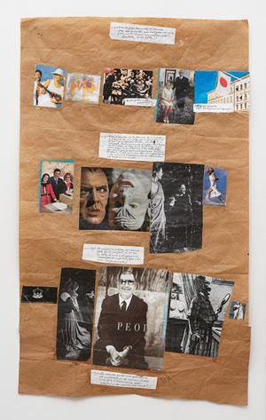 """""""L'Abécédaire de Georges Adéagbo: la civilisation parlant et faisant voir la culture""""..! (Dans le pays) by Georges Adeagbo contemporary artwork"""