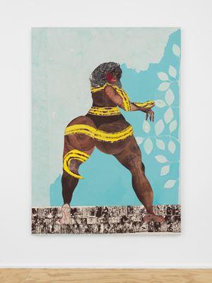 Nate the Snake by Tschabalala Self contemporary artwork