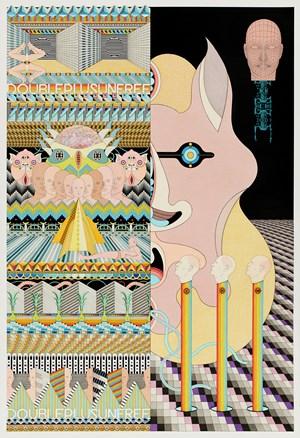 Double Plus Unfree by Jess Johnson contemporary artwork