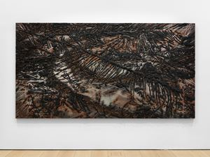 Black Beach(Unpolished Diamond) 2 by Teresita Fernández contemporary artwork