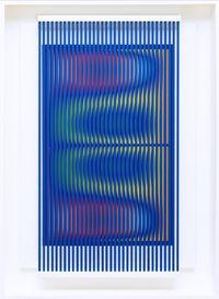 Prego: ancora un ballo per me by Alberto Biasi contemporary artwork painting