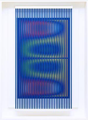Prego: ancora un ballo per me by Alberto Biasi contemporary artwork